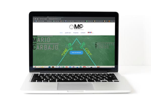 Web Carbajo Arquitecto Técnico